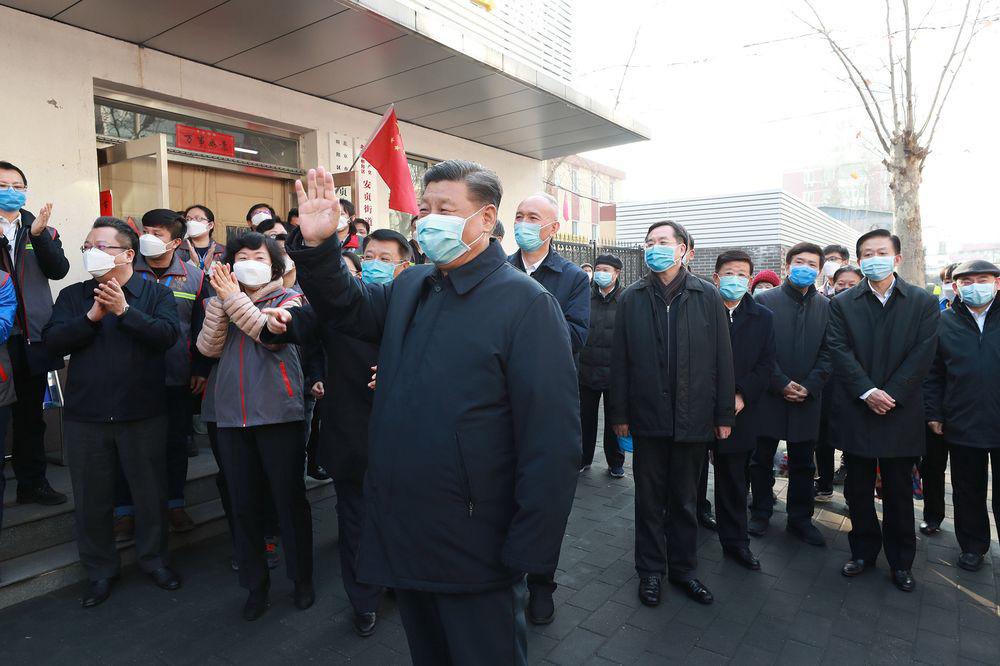 Chủ tịch Tập Cận Bình tự bỏ tiền túi để chống dịch virus corona - Ảnh 1.