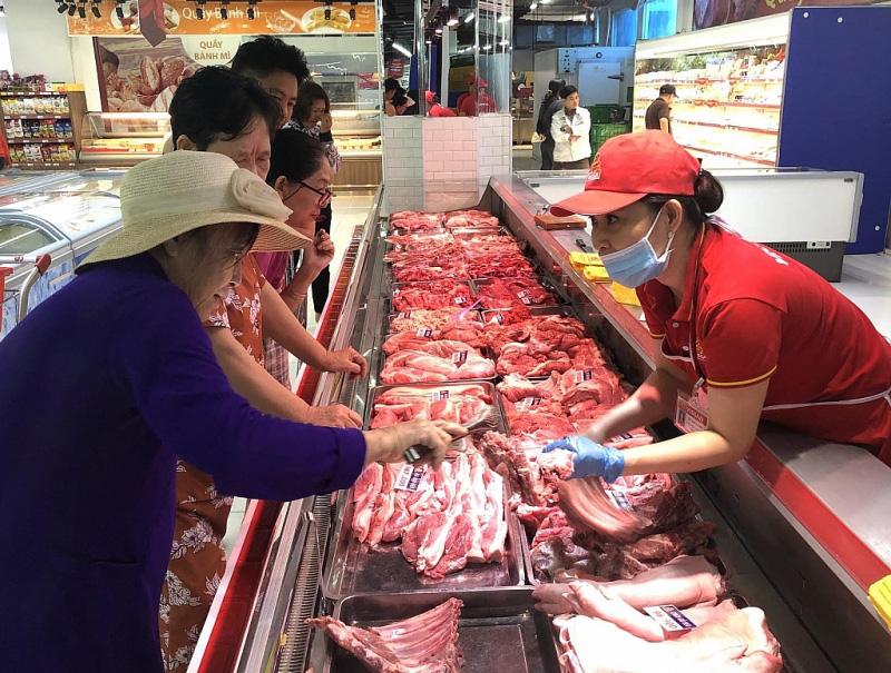 Thị trường thịt heo tại TPHCM đã hạ nhiệt? - Ảnh 1.