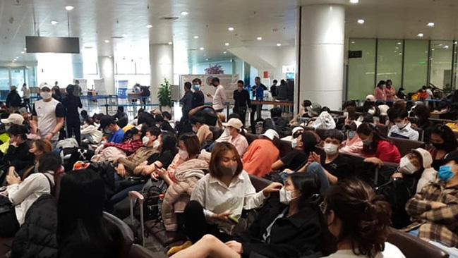 Hà Nội kiểm dịch hơn 30 chuyến bay từ Hàn Quốc  - Ảnh 1.