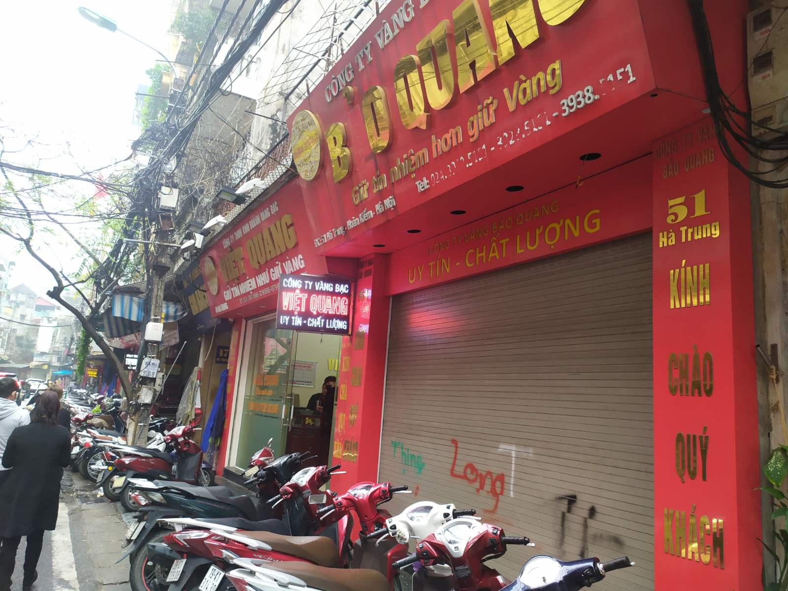 Nhiều cửa hàng vàng tại Hà Nội đìu hiu ngày vía Thần Tài - Ảnh 3.