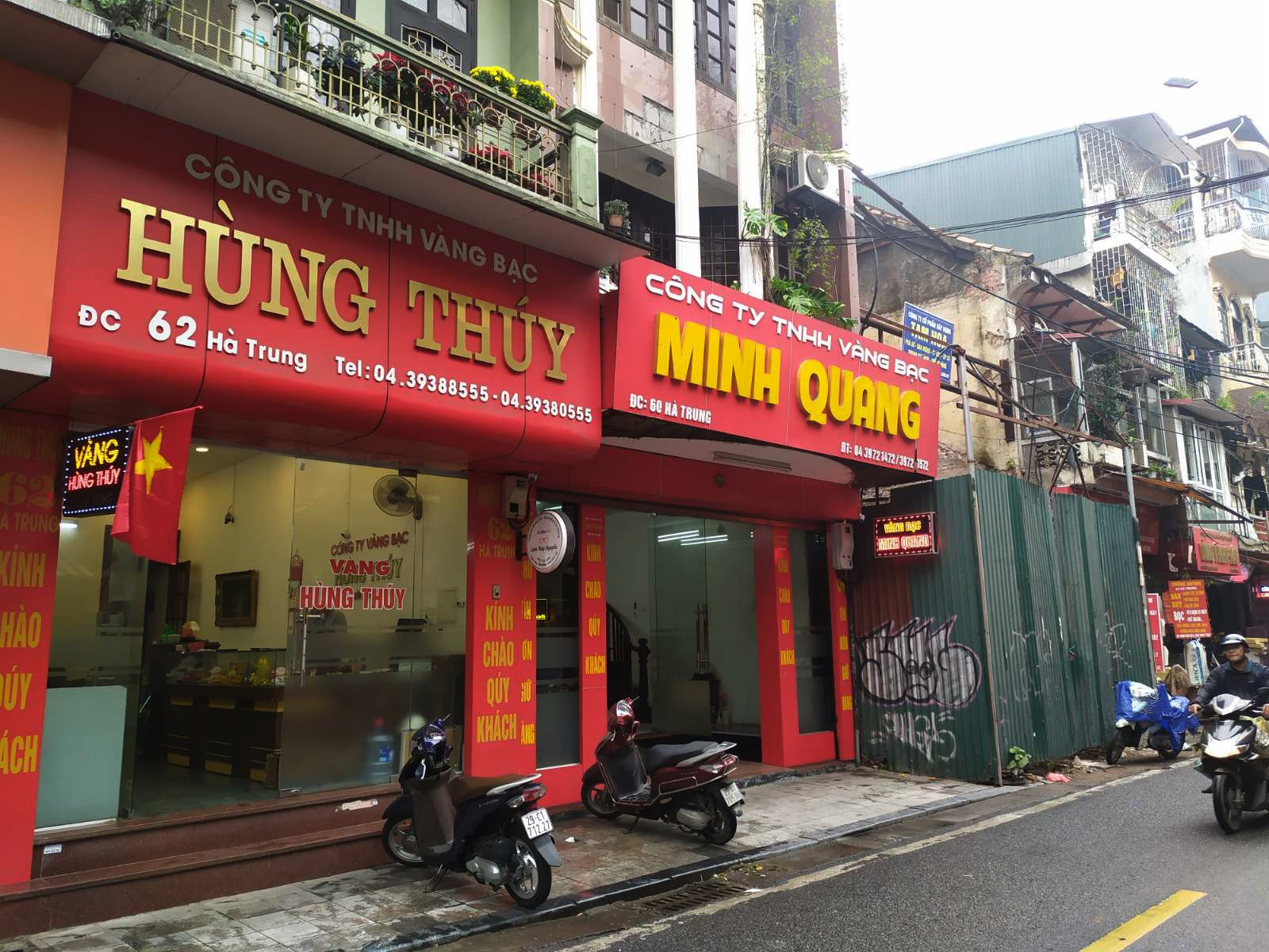 Nhiều cửa hàng vàng tại Hà Nội đìu hiu ngày vía Thần Tài - Ảnh 6.