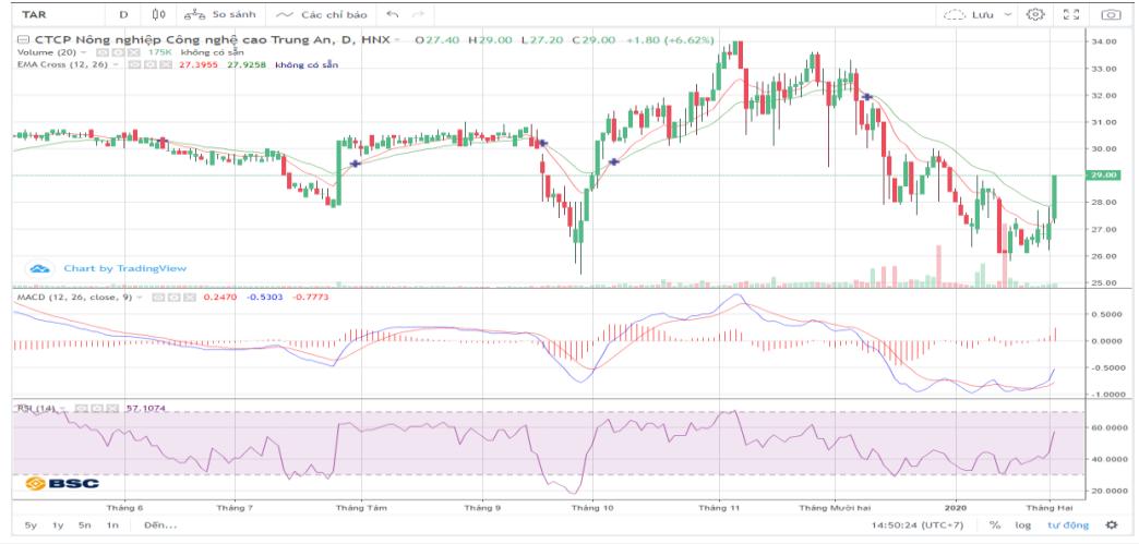 Cổ phiếu tâm điểm ngày 6/2: TAR, VNM, VRE - Ảnh 1.