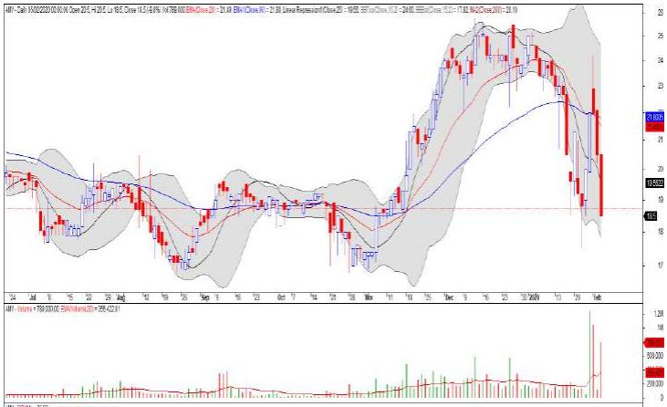 Cổ phiếu tâm điểm ngày 7/2: HDB, STB, AMV - Ảnh 3.