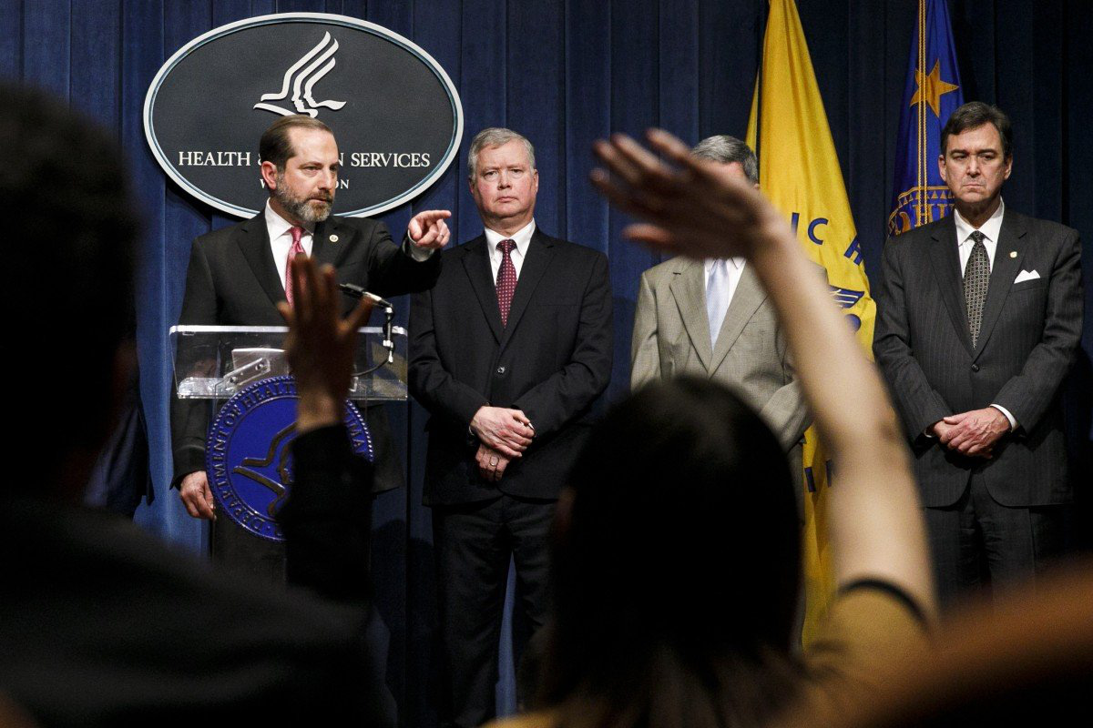 Mỹ nhắc lại đề nghị giúp Trung Quốc chống dịch virus corona, cam kết hỗ trợ 100 triệu USD  - Ảnh 1.
