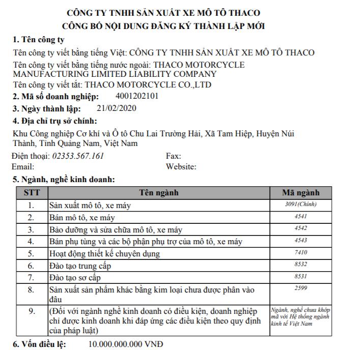 Nóng bỏng cuộc chạy đua sản xuất ô tô, xe máy: Sau Vinfast tỉ phú Phạm Nhật Vượng, Thaco của tỉ phú Trần Bá Dương cũng muốn nhảy vào sản xuất xe máy - Ảnh 1.