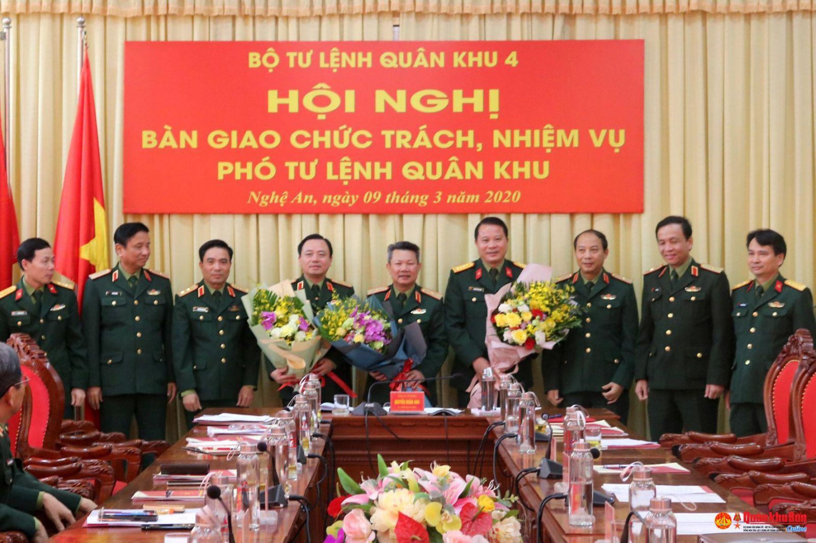 Thiếu tướng Nguyễn Anh Tuấn làm Phó Tư lệnh Quân khu 4 - Ảnh 1.