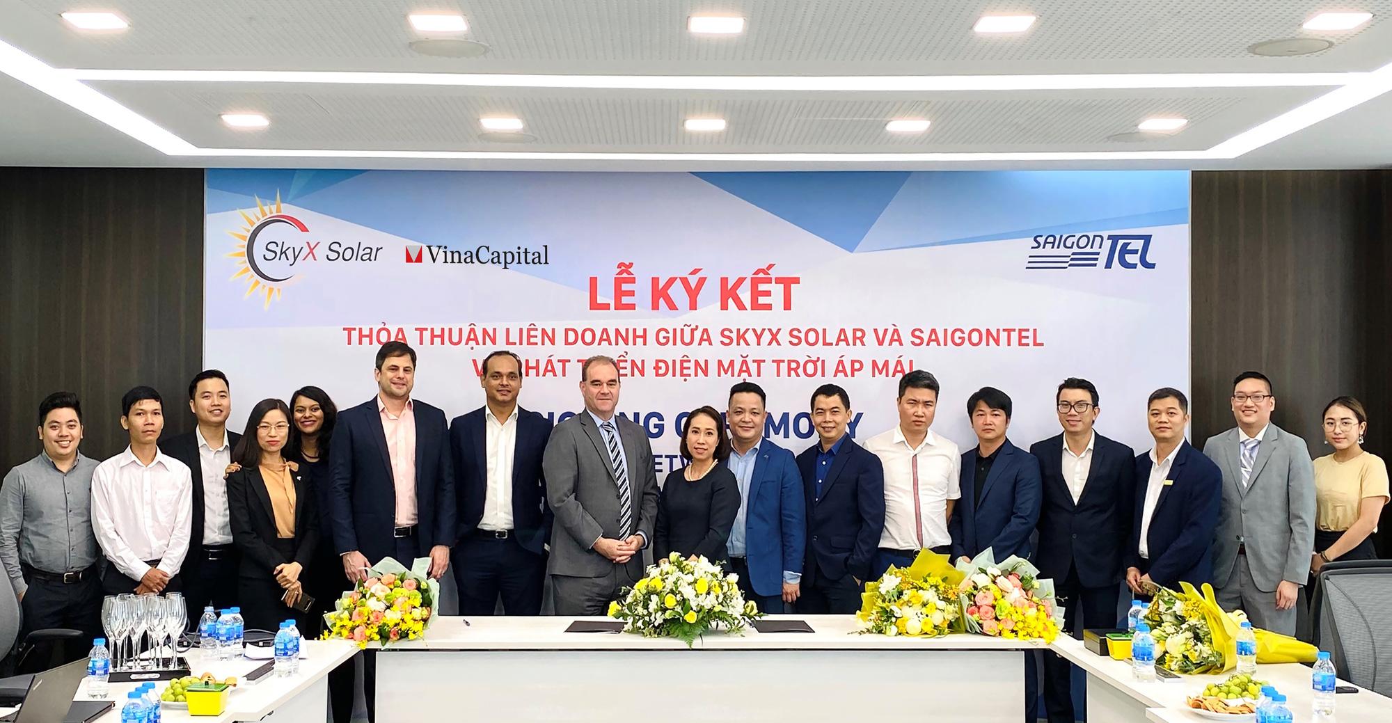 Skyx Solar- thành viên của Vinacapital và Saigontel hợp tác phát triển hơn 50MW điện mặt trời áp mái  - Ảnh 1.