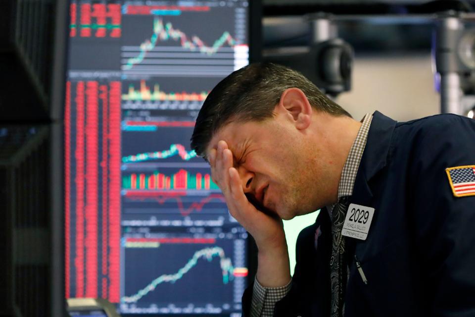 Thị trường phái sinh Mỹ giảm kịch sàn, Dow Jones futures sụt hơn 1.000 điểm sau công bố gói nới lỏng khổng lồ của Fed - Ảnh 1.