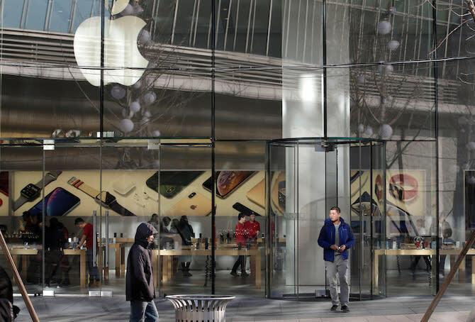 Apple Store mở lại ở Trung Quốc - Ảnh 1.