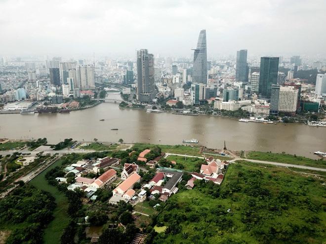 Đã có phương án thiết kế kiến trúc cầu đi bộ qua sông Sài Gòn - Ảnh 1.
