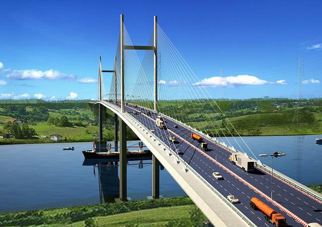 Bà Rịa - Vũng Tàu làm cầu Phước An nối thị xã Phú Mỹ với huyện Nhơn Trạch - Ảnh 1.
