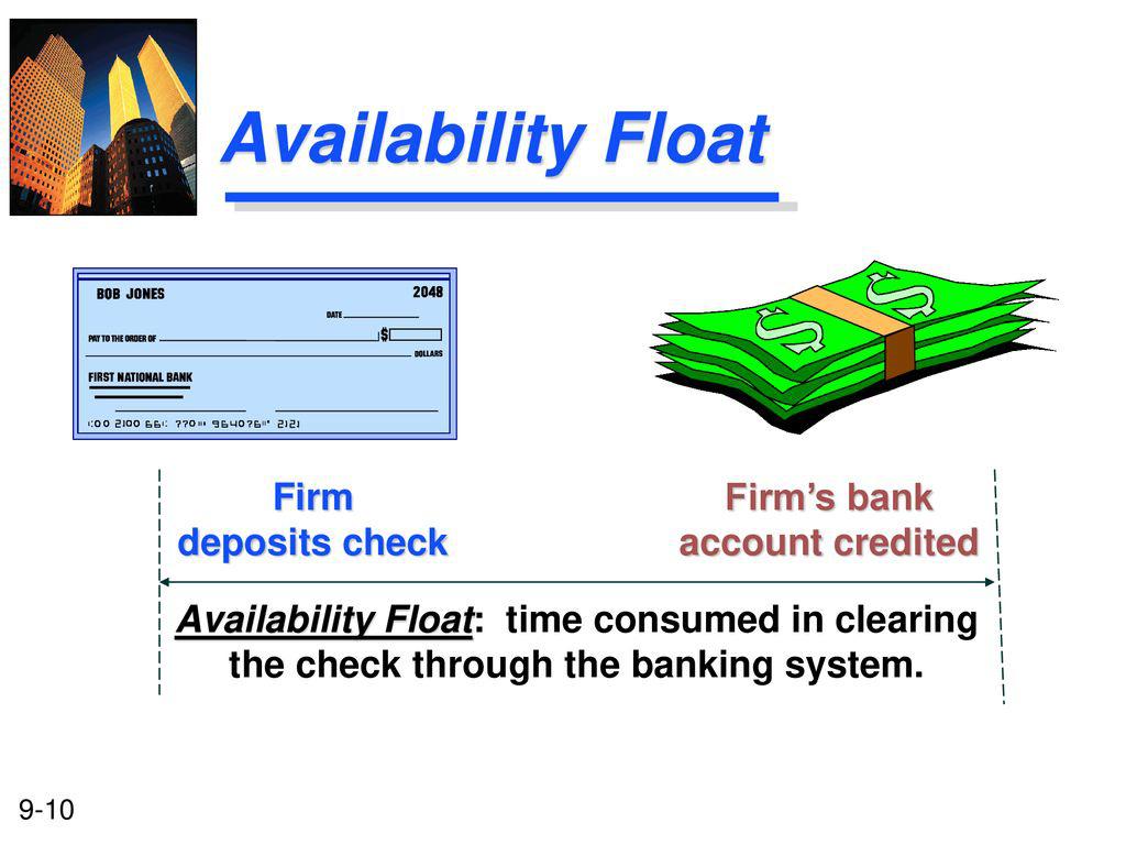Thời gian dự trữ khả dụng (Availability Float) là gì? Thời gian dự trữ khả dụng và Tiền gửi - Ảnh 1.