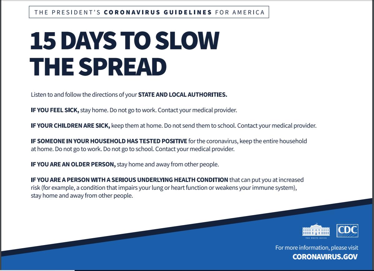 Tổng thống Trump công bố bộ hướng dẫn phòng dịch COVID-19, đặt mục tiêu kiểm soát dịch sớm nhất vào tháng 7 hoặc tháng 8 - Ảnh 1.