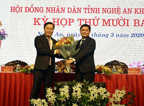 Nguyên Thứ trưởng Bộ KH-ĐT trở thành tân chủ tịch tỉnh Nghệ An - Ảnh 1.