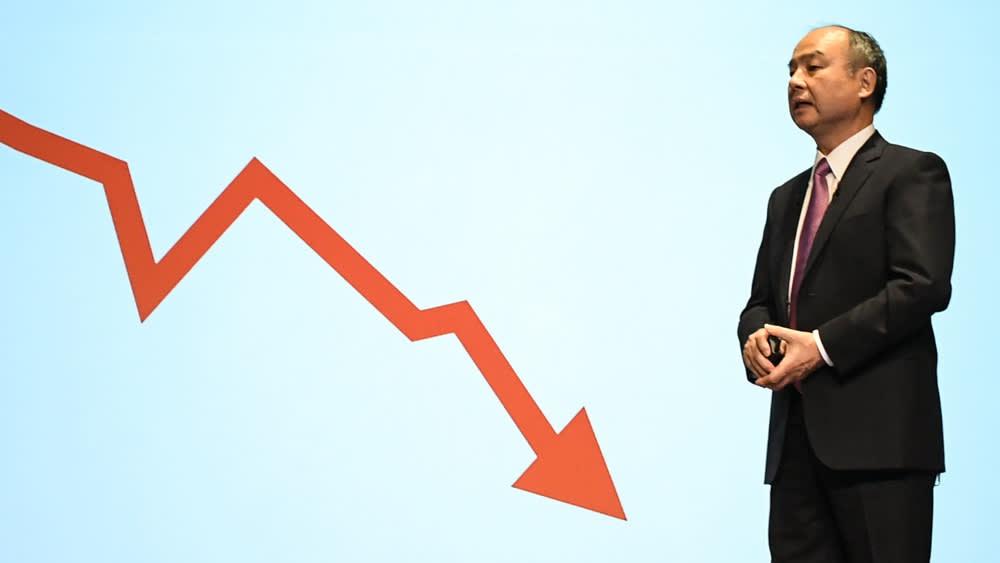 Sau 1 tháng, Uber và WeWork 'thổi bay' hơn 50% giá trị cổ phiếu SoftBank - Ảnh 2.