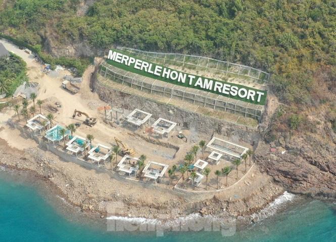 Chủ dự án Hòn Tằm bị phạt 40 triệu đồng vì xây dựng không phép - Ảnh 1.