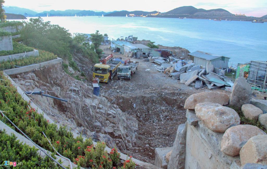 Xây công trình không phép ở đảo Hòn Tằm, lấn danh thắng vịnh Nha Trang - Ảnh 9.