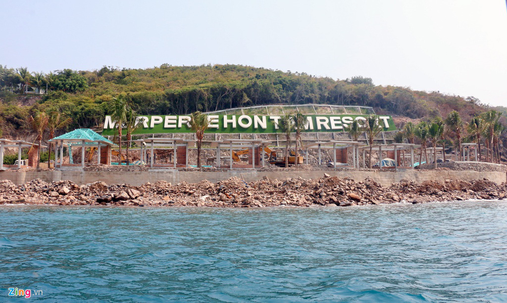 Xây công trình không phép ở đảo Hòn Tằm, lấn danh thắng vịnh Nha Trang - Ảnh 6.
