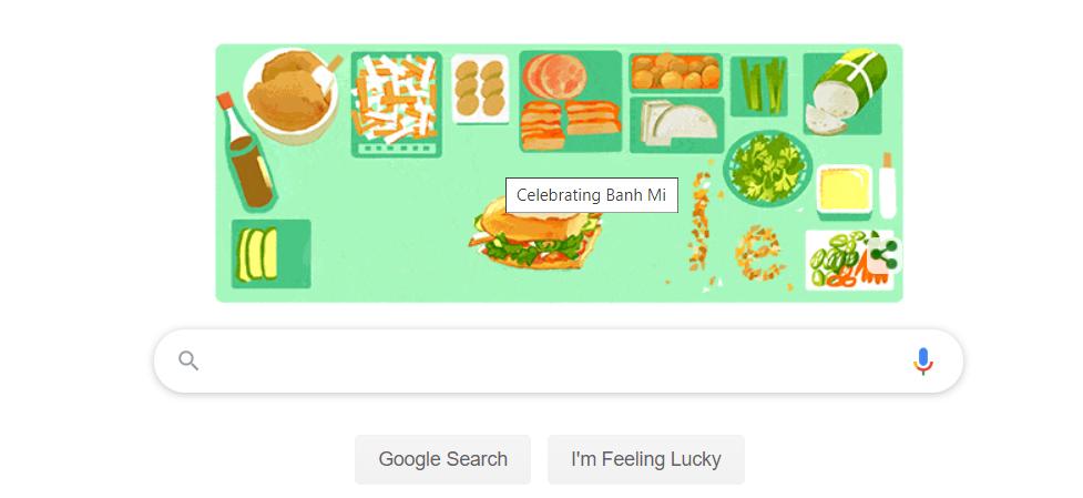 Google vinh danh bánh mì Việt Nam nhân kỉ niệm 9 năm ngày 'đi vào từ điển' - Ảnh 1.
