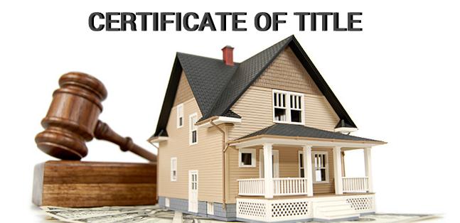 Giấy chứng nhận quyền sở hữu (Certificate of Title) là gì? Đặc điểm - Ảnh 1.