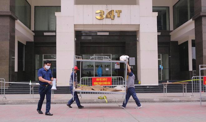 Hà Nội phong tỏa toà 34T Trung Hoà Nhân Chính vì có người dương tính SARS-Cov-2 - Ảnh 3.