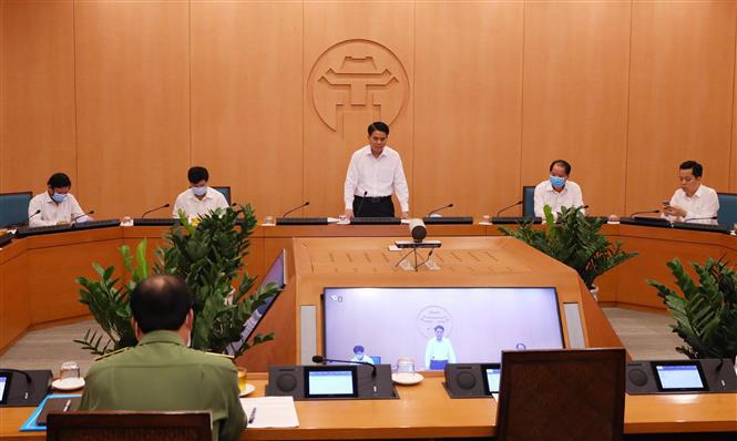 Phong tỏa tòa nhà HH01B - KĐT Thanh Hà, xét nghiệm lại với 7.000 nhân viên y tế bệnh viện Bạch Mai - Ảnh 1.