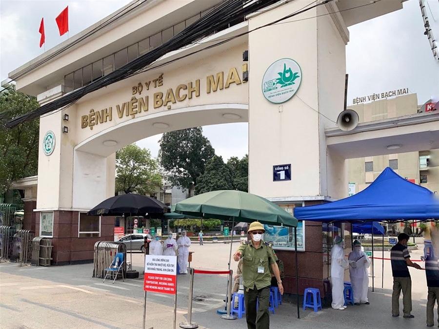 Thêm 6 ca nhiễm COVID-19 tại Công ty Trường Sinh cung cấp dịch vụ cho BV Bạch Mai, tổng số ca nhiễm tăng lên 194 - Ảnh 1.