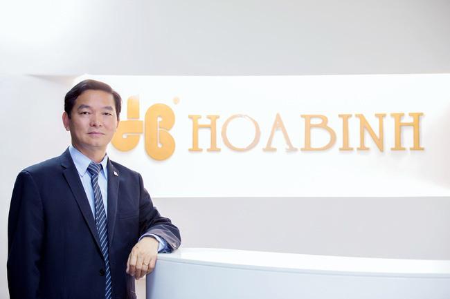 Ông Lê Viết Hải, chủ tịch HĐQT Xây dựng Hòa Bình bị bán giải chấp gần 3,2 triệu cp - Ảnh 1.