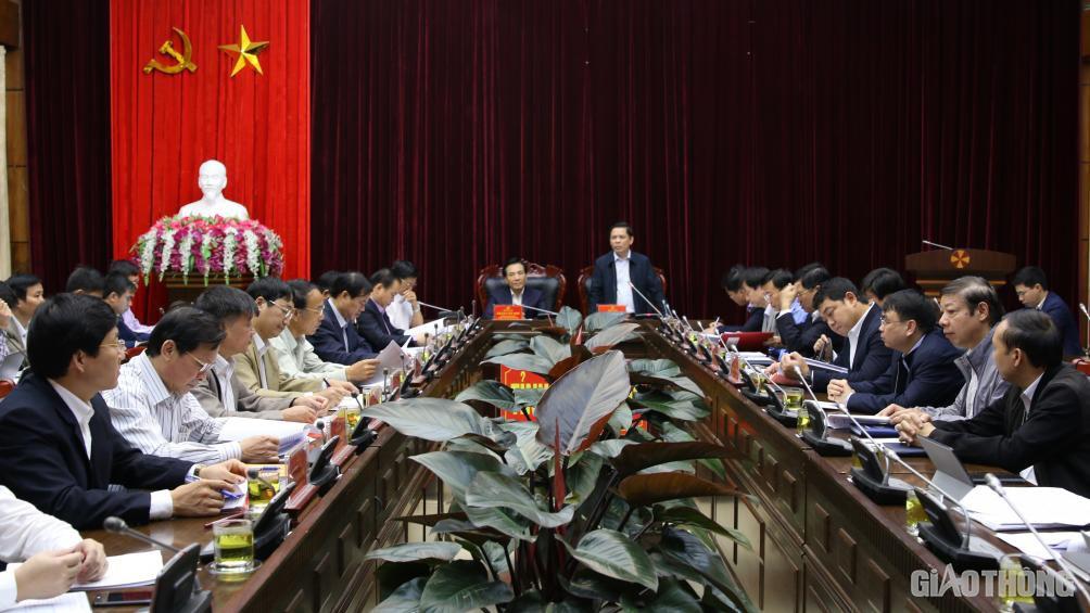 Bộ trưởng Nguyễn Văn Thể yêu cầu khẩn trương thực hiện dự án CHK Điện Biên - Ảnh 1.