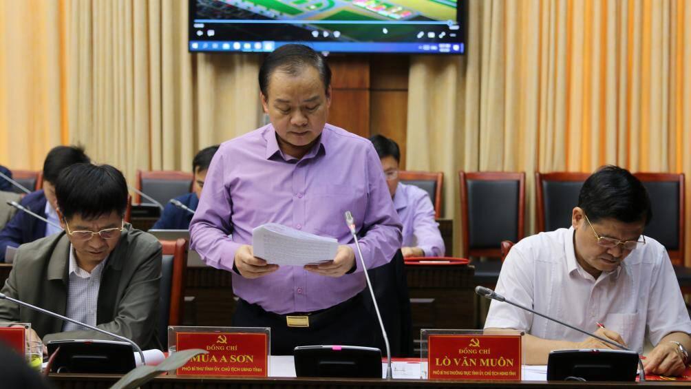Bộ trưởng Nguyễn Văn Thể yêu cầu khẩn trương thực hiện dự án CHK Điện Biên - Ảnh 2.