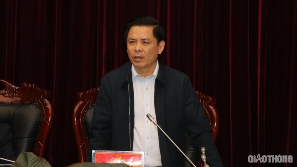 Bộ trưởng Nguyễn Văn Thể yêu cầu khẩn trương thực hiện dự án CHK Điện Biên - Ảnh 3.