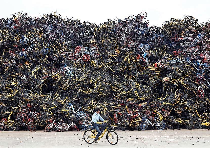 COVID-19 giúp các ứng dụng chia sẻ xe đạp hồi sinh ở Trung Quốc - Ảnh 2.