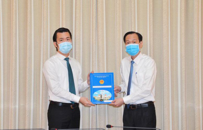 Nguyên Phó tổng giám đốc Saigontourist Trương Tấn Sơn giữ chức Phó Chủ tịch quận Tân Bình - Ảnh 1.