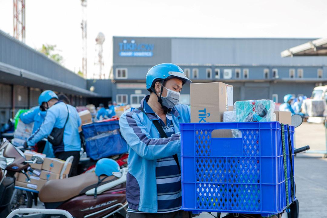 Tiki miễn phí 1 triệu lượt giao hàng nhanh ở TP HCM và Hà Nội - Ảnh 1.