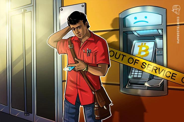 Bitcoin Depot đóng cửa nhiều máy ATM bitcoin tại Mỹ (Nguồn: CoinTelegraph)