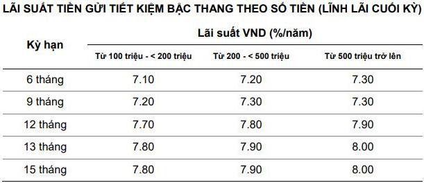 Lãi suất Ngân hàng Việt Á cao nhất tháng 4/2020 là 8%/năm - Ảnh 2.