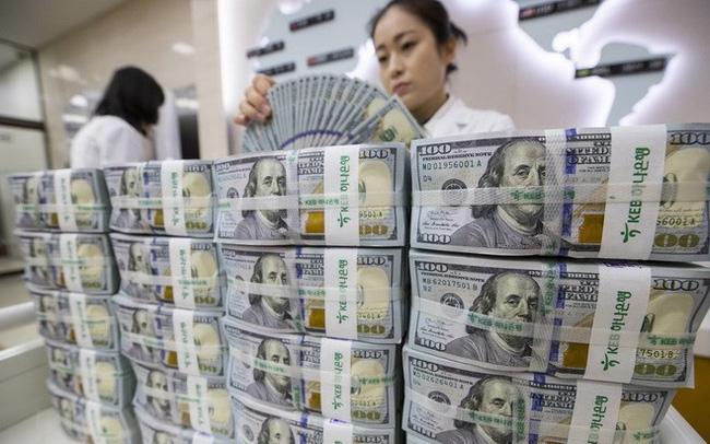 Giá USD ngân hàng đồng loạt giảm sâu - Ảnh 1.