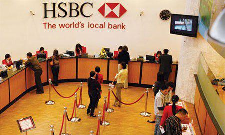 Ngân hàng HSBC (ảnh: HSBC)