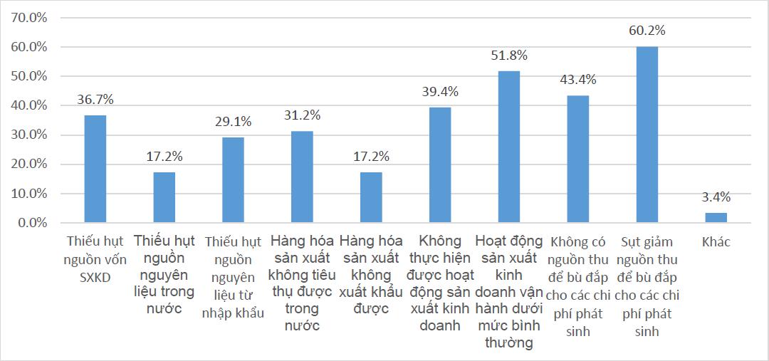 Khảo sát của ĐH KTQD tại hơn 500 DN vừa và nhỏ: Gần 40% cho biết có thể sẽ phá sản nếu COVID-19 kéo dài đến hết năm nay - Ảnh 2.
