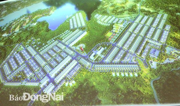Đồng Nai duyệt qui hoạch 1/500 khu dân cư 95 ha tại xã sông Trầu - Ảnh 1.