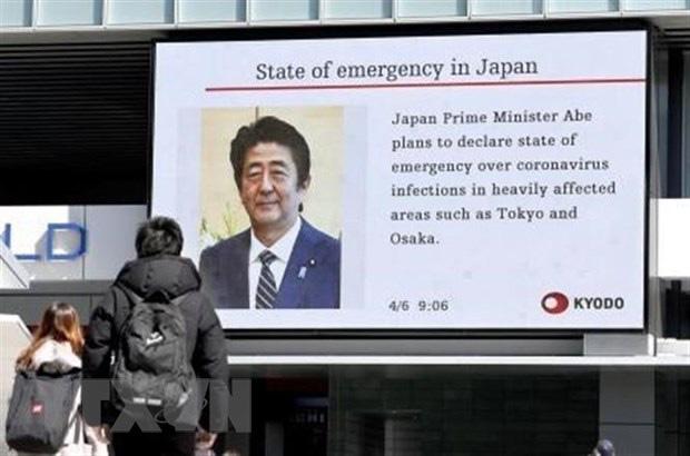 Thủ tướng Nhật Bản công bố gói cứu trợ gần 1.000 tỉ USD - Ảnh 1.
