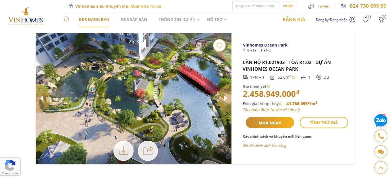 Vinhomes ra mắt nền tảng bán nhà trực tuyến - Ảnh 3.