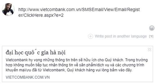 Vietcombank lên tiếng website của nhà băng không bị hack, nguyên