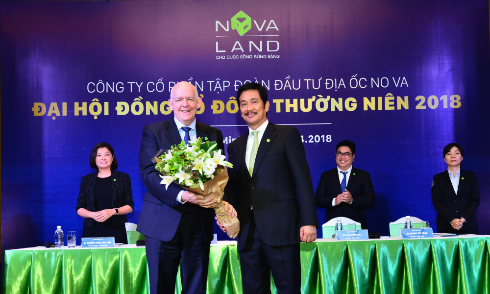 novaland dat muc tieu nam 2018 tang 87 doanh thu thuan va 55 loi nhuan so voi nam 2017