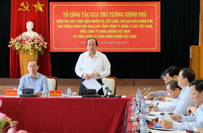 thu tuong yeu cau chan chinh tinh trang hoan huy chuyen bay tuoi tre online