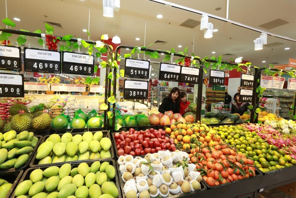 Image result for nông sản siêu thị
