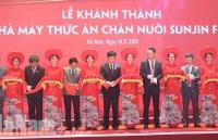 khanh thanh nha may san xuat thuc an chan nuoi voi cong nghe tu dong tai long an