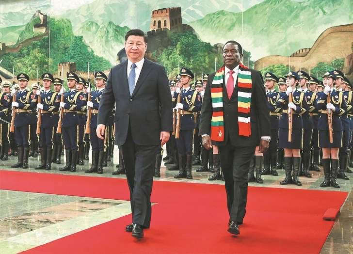 trung quoc muon in tien moi cho zimbabwe de doi lay kim cuong dau mo