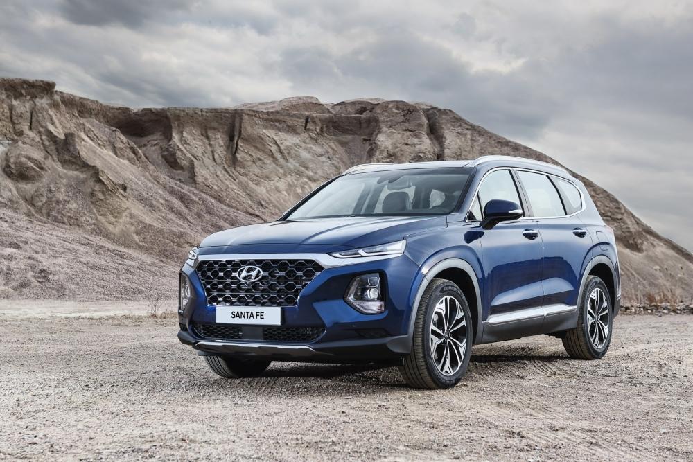 Hyundai Santa Fe 2019 mới chính thức: lột xác hoàn toàn, sẽ có bản 8 chỗ