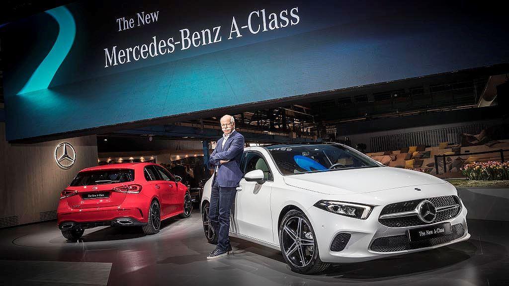 cong bo gia ban mercedes benz a class 2018 the he moi
